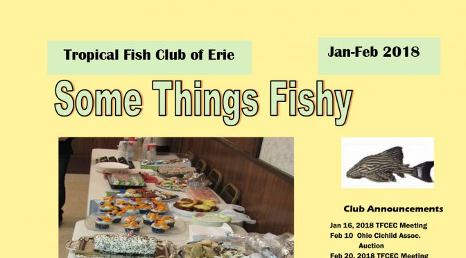 SOME THINGS FISHY ISSUE 1 VOL 31 JAN/FEB 2018