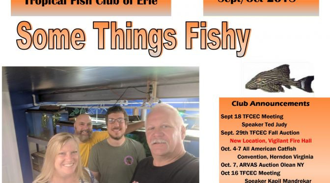 SOME THINGS FISHY ISSUE 5 VOL 31 SEP/OCT 2018